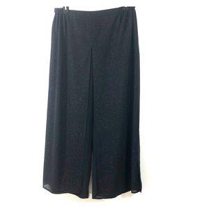 JR Nites Woman Sparkle Wide Leg Pants Size 22W